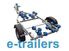 EXTREME 750kg Jet Ski / Boat Trailer 16 roller - Boat 14' -Ribs up to 5m -Dinghy to 16ft